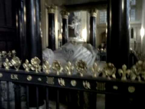 The tomb of Elizabeth the first and Mary the first