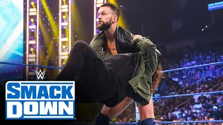 Finn Bálor journeys to SmackDown and attacks Sami Zayn: SmackDown, July 16, 2021