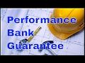 Performance Bank Guarantee | Best Performance Bonds