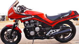 Honda Cbx750f (Horizon, Bold'Or) - Надежный СпортТурист 80х 👌!