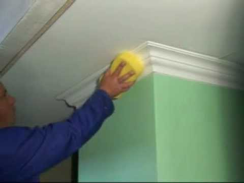 Installing rhinoart cornices youtube - Decoration plafond polystyrene ...