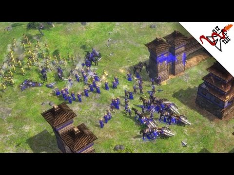 Age of Empire 3 - 5P NEVER ENDING BATTLES | Multiplayer Gameplay