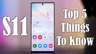 Samsung Galaxy S11 Plus - Top 5 Things You Need To Know