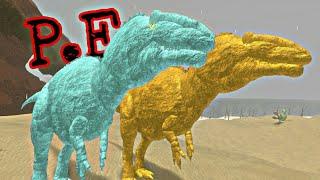 Tierra Prehistórica - Casal de Acrochantosaurus! [Oro+Diamante] ¡Caa ao Sauropode! (Roblox)