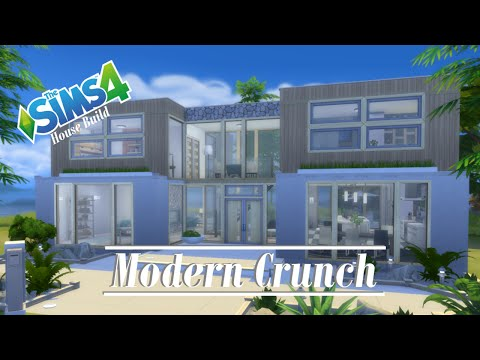 The Sims 4 - House Build - Modern Crunch