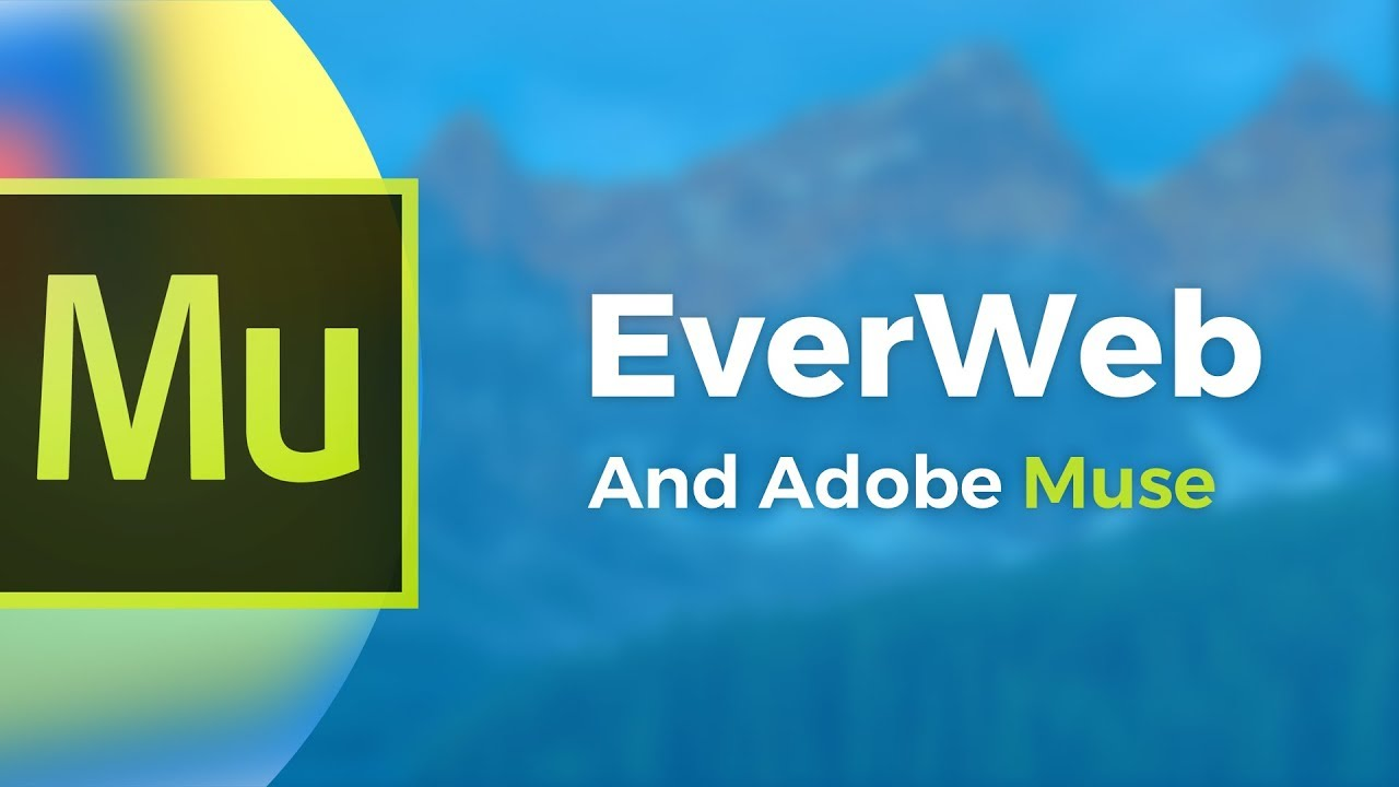 Adobe Muse Replacement 2019 - Alternative for Building your Website With  EverWeb