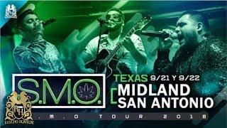 SMO Tour 2018 - Midland, Tx 9/21 y San Antonio, Tx 9/22