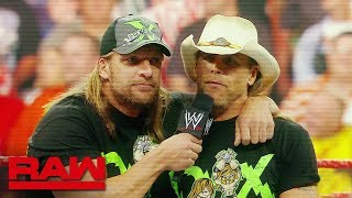 Look back at D-Generation X's chaotic history: Raw, Oct. 8, 2018
