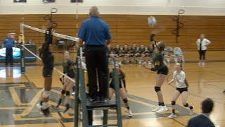 Girls High School Volleyball State Tournament Action - Ardrey Kell @ West Forsyth