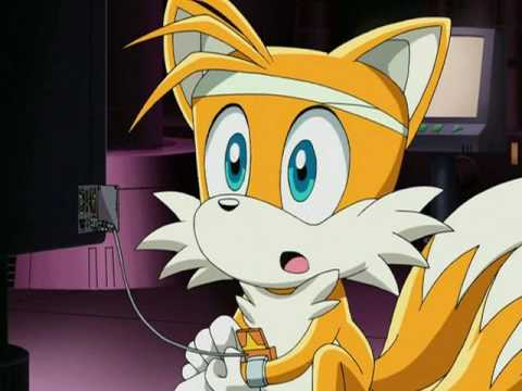 Sonic X - Kiss the girl - Tails and Cosmo (2 ) - YouTube