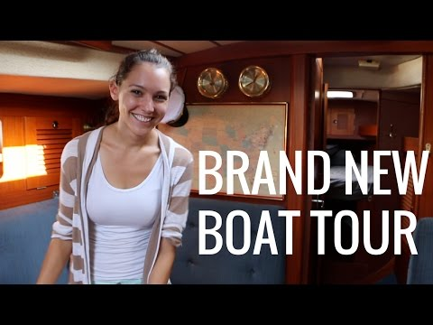 4] Brand New Sailboat Tour! | Abandon Comfort - Sailing The World