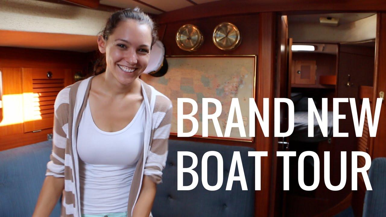 4] Brand New Sailboat Tour!