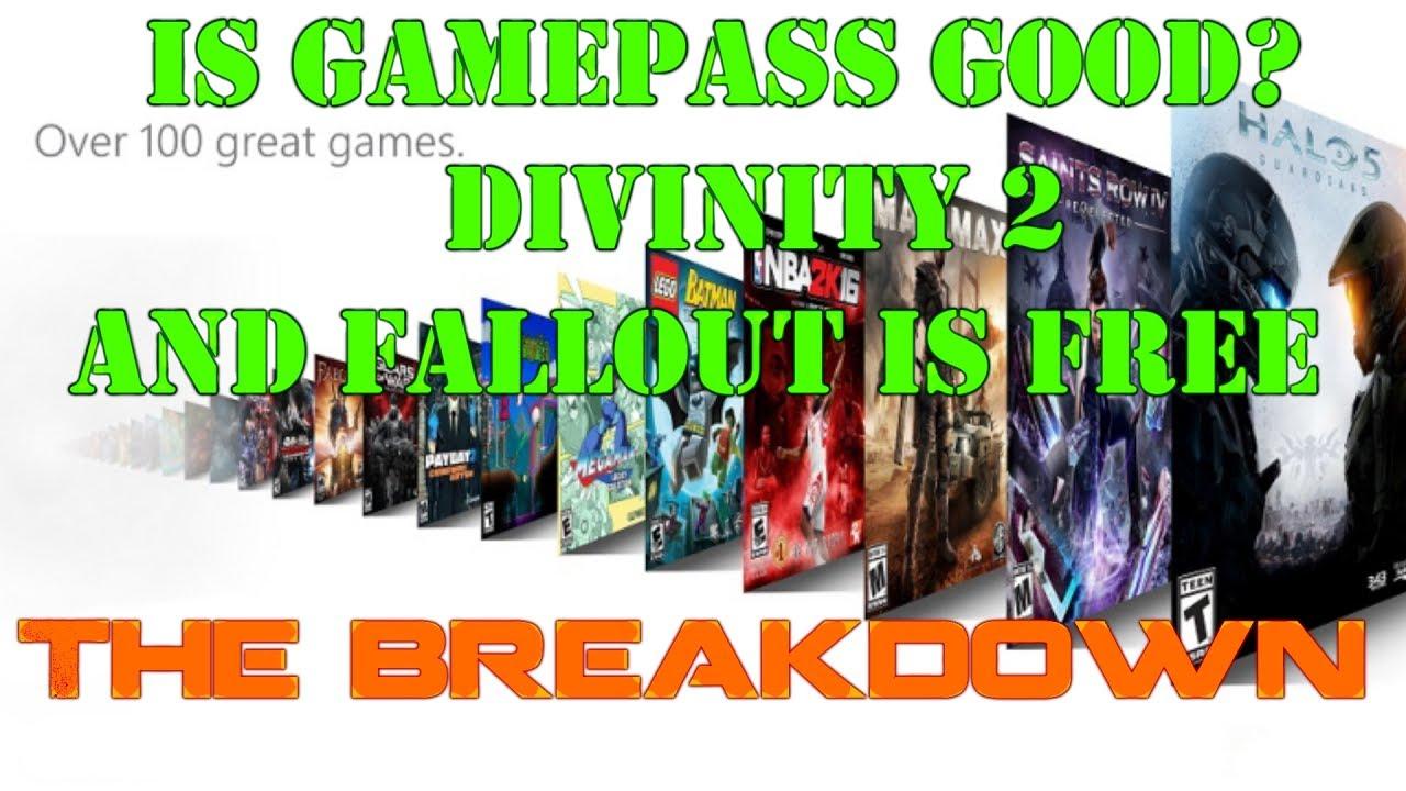 fallout 4 gamepass