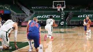 Highlights: Bucks 130 - Pistons 115 | Milwaukee Bucks & Detroit Pistons United | 1.6.21