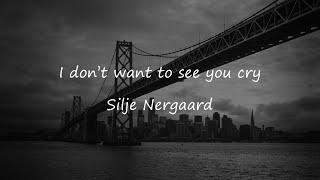 [한글 번역]I don't want to see you cry - Silje Nergaard