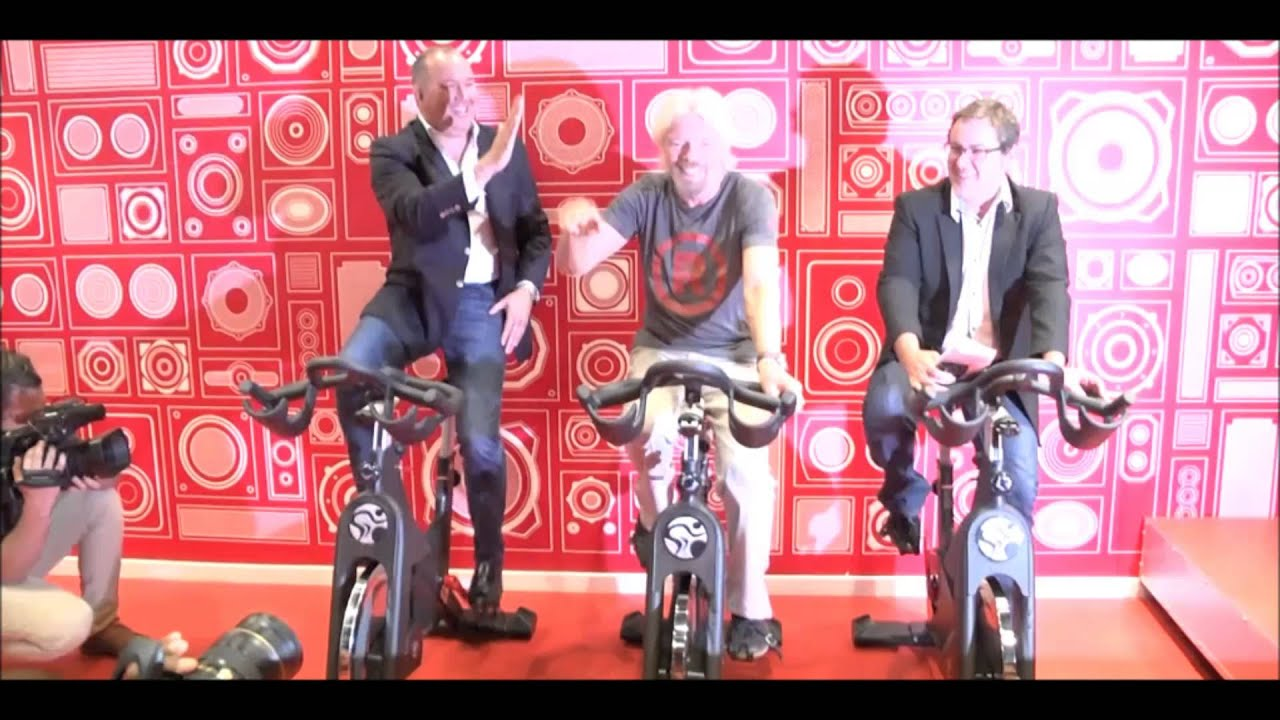 Sir Richard Branson visits Jabulani Mall   Soweto Urban