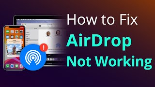 How to Fix AirĎrop Not Working on iPhone iPad [2020]