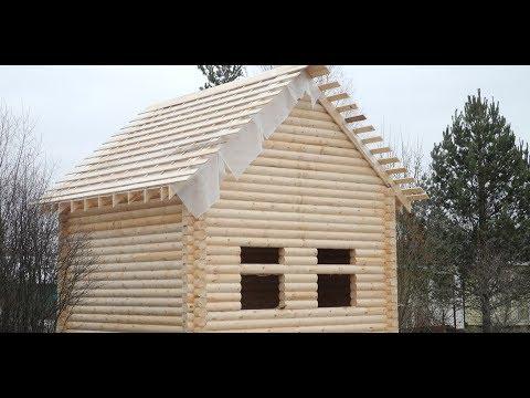 Деревянные дома под ключСрубы ручной рубки из Марий Эл
