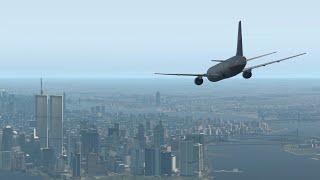 9/11 | UA Vuelo 175 de un Choque de Animación [X-Plane 11]