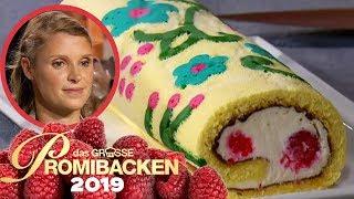 Perfekte Biskuit Rolle: Evi beeindruckt Jury | Verkostung | Das große Promibacken 2019 | SAT.1 TV