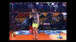 sandy canta o sucesso verdade de zeca pagodinho-progrma legendarios 12/10/2013