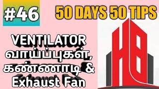 VENTILATOR - அடிப்படை விஷயங்கள் #50days50tips #46