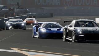 Battle Porsche 911 GT2 RS vs Ford GT vs Lamborghini Aventador