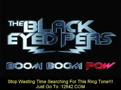 2009 NEW  MUSIC Boom Boom Pow - Lyrics Included - ringtone download - MP3- song