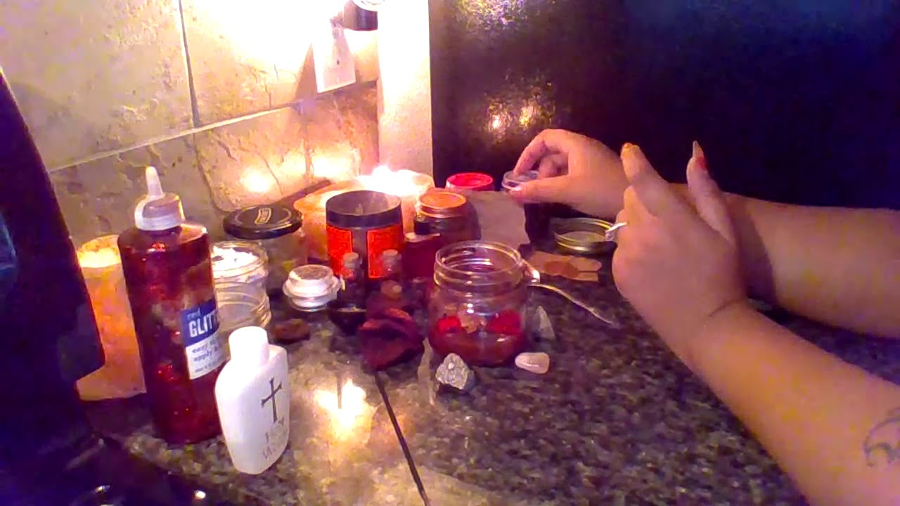 Layered Jar Spell To Trap Your Sugar Daddy (Stuck In Love)