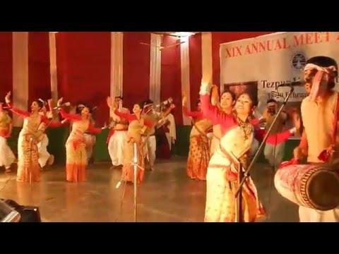 Gumseng Bihu Husori Of Tezpur University (kanchenjungha+dhansiri+pabitara) YO Assam