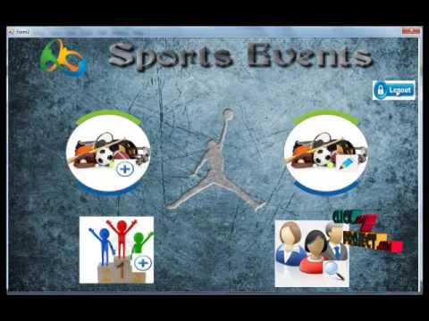 Sports Event Management | Final Year Projects 2016 - 2017