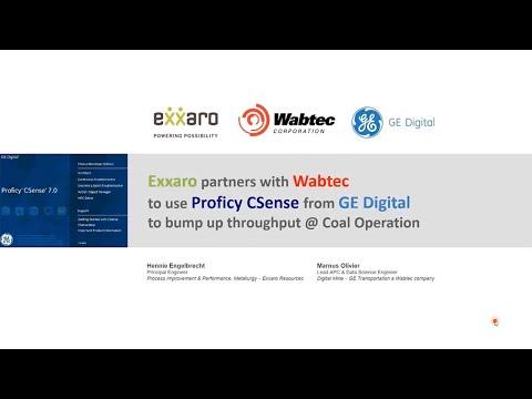 Exxaro and Wabtec