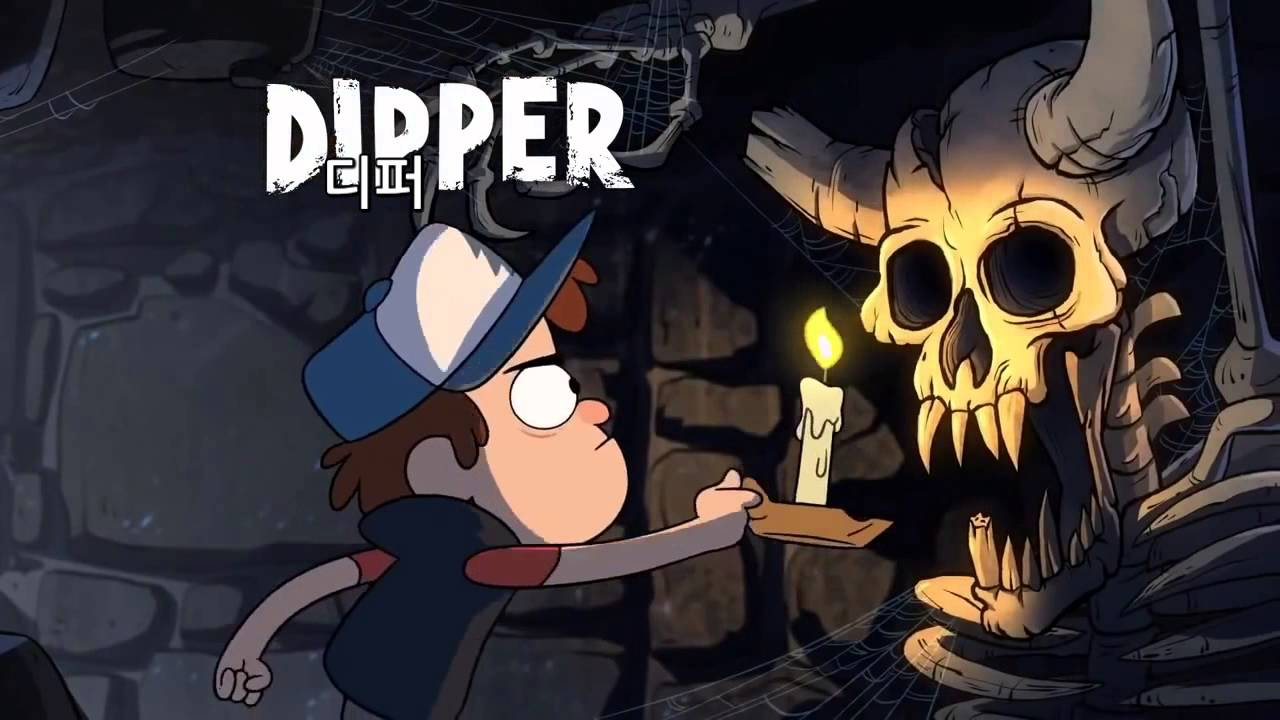 Gravity Falls Dipper And Wendy Wallpaper 중력폭포 오프닝 자막 Youtube