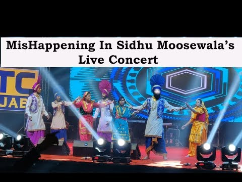 Sidhu Moosewala's Live Concert, Performance by Bhangra Dynasty | HD |