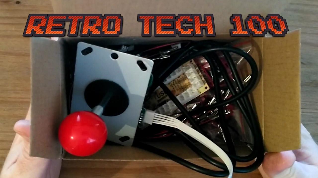 Set up and Test Arcade Stick/Buttons for Retropie Build