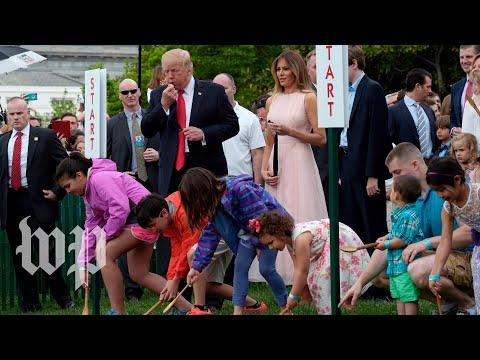 White House holds annual Easter Egg Roll