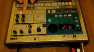 "JVC Force ""Strong Island"" beat, made with Electribe ES-1"