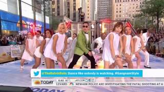 PSY  Gangnam Style in New York City HD Live