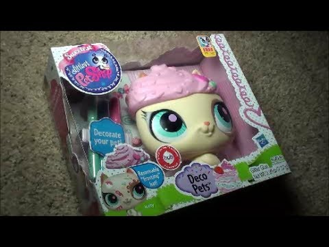 my new deco pets kitty littlest pet shop sweetest pets deco pets kitty pet youtube. Black Bedroom Furniture Sets. Home Design Ideas