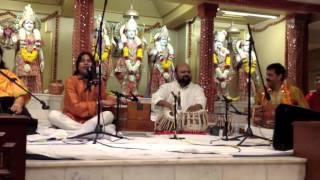 Shri Hemant Panwar  singing with famous singer Anuradha Paudwal
