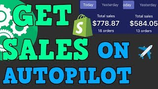 AUTOMATE YOUR SHOPIFY BRAND! NO MORE PAYING INFLUENCERS