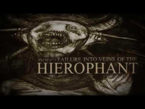 AKEPHALOS  - THE HIEROPHANT (OFFICIAL LYRICS VIDEO 2017)