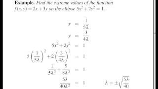 Concise Modular Calculus [87/97]: Lagrange Multipliers (3/3 on Multivariable Optimization)