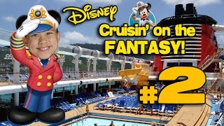 Cruisin' on the DISNEY FANTASY!!! 4K Disney Cruise Adventure PART 2