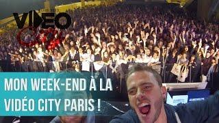 MON WEEK-END À LA VIDÉO CITY PARIS !(C'est l'histoire d'un mec qui voulait faire un Vlog, mais qui a préféré vivre son week-end au calme. Merci à tous pour ce magnifique week-end, c'était génial de ..., 2015-11-11T15:00:05.000Z)