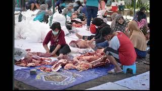 Pelaksanaan Pemotongan Hewan Quran (IDUL ADHA 1441 H) di Musholla Nurul Hidayah
