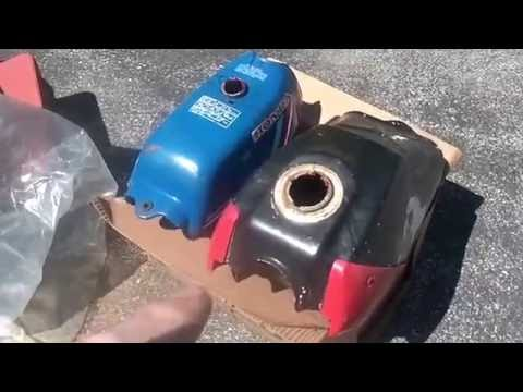 Using Red Kote Gas tank sealer, what I learned,