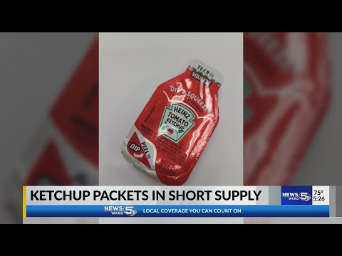 VIDEO: Ketchup shortage? Heinz plans production of 12 billion packets per year