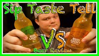 Bud Light Lime Vs Bud Light Orange Sip Taste Tell Beer Review S1 E5