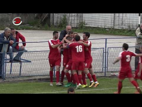 FK Polet Ljubic - FK Radnički Kragujevac, golovi i izjave trenera, 30.04.2017.
